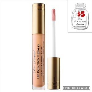 New TOO FACED Lip Injection Glossy Lipgloss